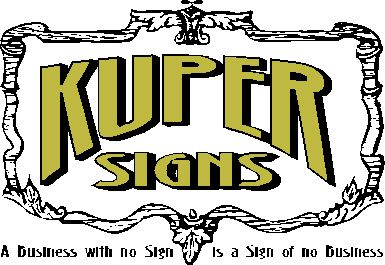 Kuper Signs